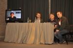 Fotos de Estéticas de la dispersión 2010: Daniel Melero y Pablo Hupert en vivo, Reinaldo Laddaga por Skype
