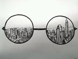 Ciudad tras anteojos