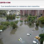 imagen inundados
