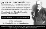 Grupos de lectura y conversación: ¿qué es el psicoanálisis? (explicado para no-psicoanalistas)