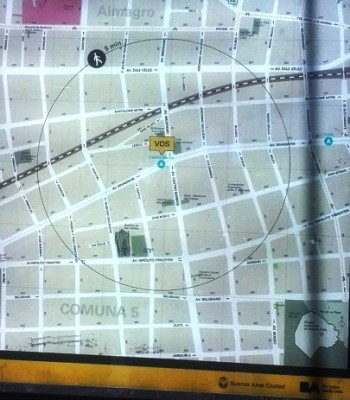 como en todas las bocas del subterráneo de la Ciudad de Buenos Aires