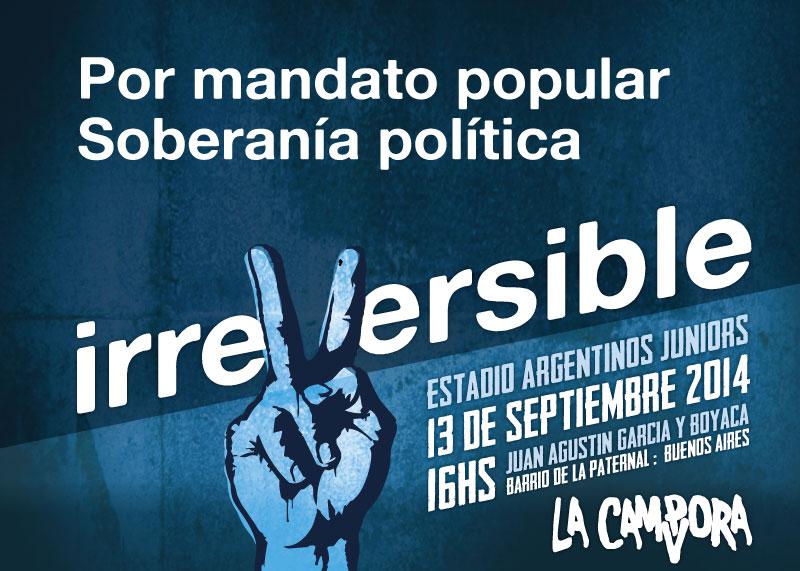 IrreVersible La Cámpora 2014