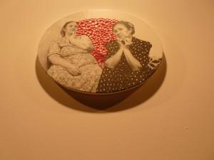 De la artista griega Maria Ikonompoulou - de la serie Los espacios entre nosotros