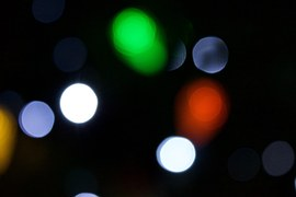luces disfuminadas